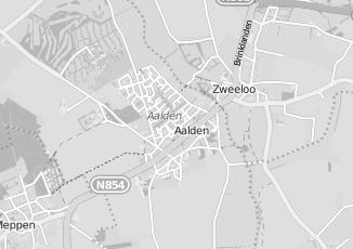 Kaartweergave van Hout in Aalden
