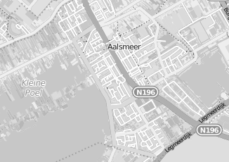 Kaartweergave van Combee blokker in Aalsmeer
