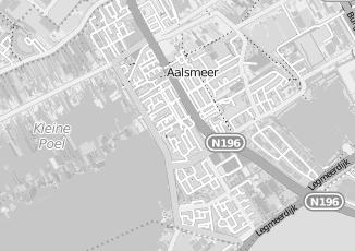 Kaartweergave van Noordam in Aalsmeer