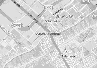 Kaartweergave van Hoogenboom in Aalsmeerderbrug