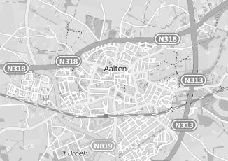 Kaartweergave van Aalbers in Aalten