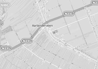 Kaartweergave van Oudshoorn in Aarlanderveen