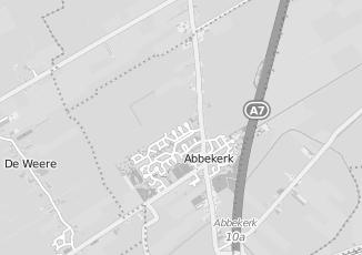 Kaartweergave van Slopen in Abbekerk