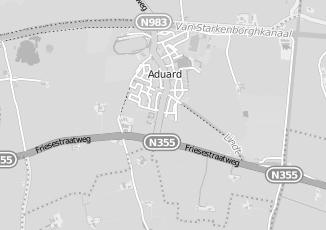 Kaartweergave van Holtrop in Aduard