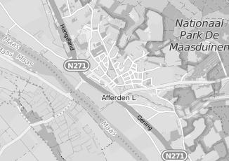 Kaartweergave van Martens in Afferden Limburg
