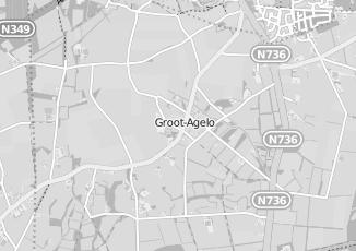 Kaartweergave van Nieuwenhuis in Agelo