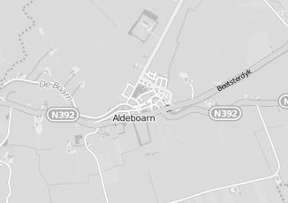 Kaartweergave van Reitsma in Aldeboarn