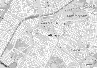 Kaartweergave van Brugman in Alkmaar