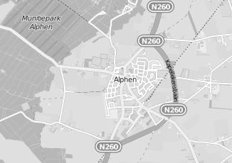Kaartweergave van Hal in Alphen Noord Brabant