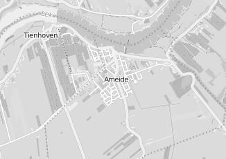 Kaartweergave van Alblas in Ameide