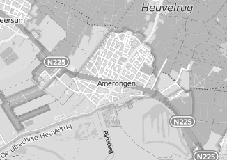 Kaartweergave van Hendriks in Amerongen