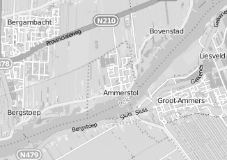 Kaartweergave van Hagen in Ammerstol