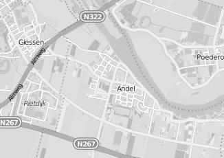 Kaartweergave van Zeeman in Andel