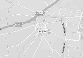 Kaartweergave van Meulen in Anjum