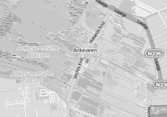 Kaartweergave van Woningnet in Ankeveen