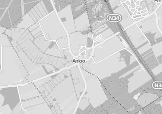 Kaartweergave van C1000 in Anloo
