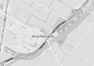 Kaartweergave van Dam in Anna Paulowna