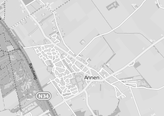Kaartweergave van Boerema in Annen