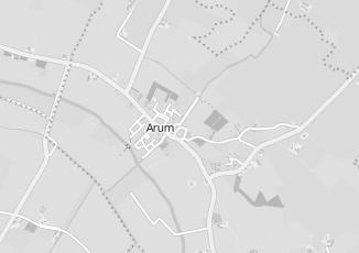 Kaartweergave van Albert heijn in Arum