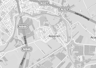 Kaartweergave van Bouwmaterialen in Asperen