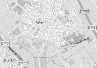 Kaartweergave van Hoefnagels in Asten