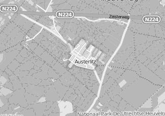 Kaartweergave van Beek in Austerlitz
