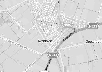 Kaartweergave van Groot in Avenhorn