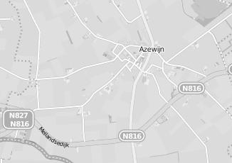 Kaartweergave van Piet zoomers in Azewijn