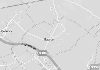 Kaartweergave van Bakker in Baaium