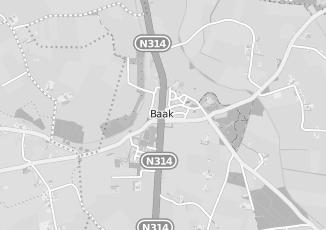 Kaartweergave van Hotel in Baak