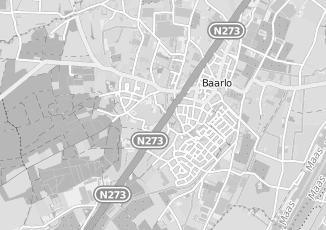 Kaartweergave van C1000 in Baarlo Limburg