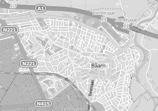 Kaartweergave van Jansen in Baarn