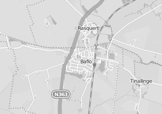 Kaartweergave van Huizinga in Baflo