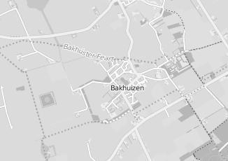 Kaartweergave van Heidema in Bakhuizen