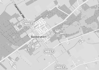 Kaartweergave van Bos in Bakkeveen