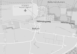 Kaartweergave van Milieustraat in Ballum