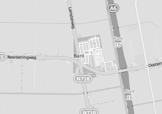 Kaartweergave van C1000 in Bant