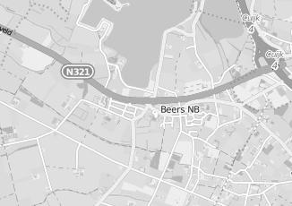 Kaartweergave van Cuppen in Beers Noord Brabant