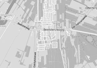 Kaartweergave van Bos in Beetsterzwaag