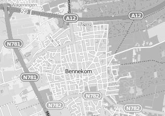 Kaartweergave van Roseboom in Bennekom