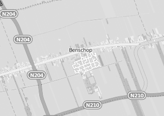 Kaartweergave van Kesteren in Benschop