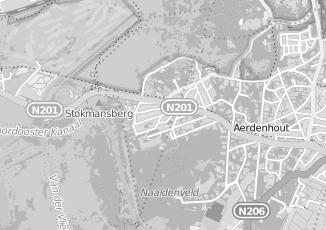 Kaartweergave van Kvik in Bentveld