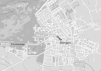 Kaartweergave van Mooij in Bergen Noord Holland