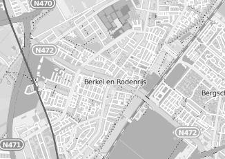 Kaartweergave van Oosthoek in Berkel En Rodenrijs