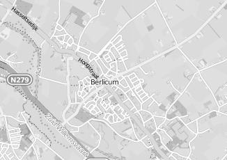 Kaartweergave van Hoornweg in Berlicum