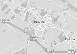 Kaartweergave van Ronde in Beusichem