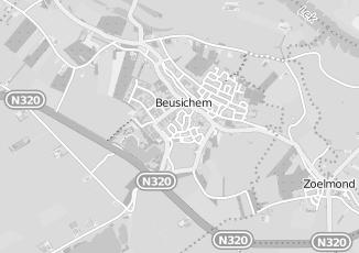 Kaartweergave van Cleef in Beusichem