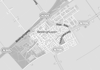Kaartweergave van Hoek in Biddinghuizen