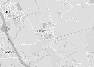 Kaartweergave van Verlichting in Bierum