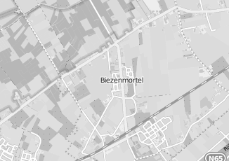 Kaartweergave van Bertens in Biezenmortel